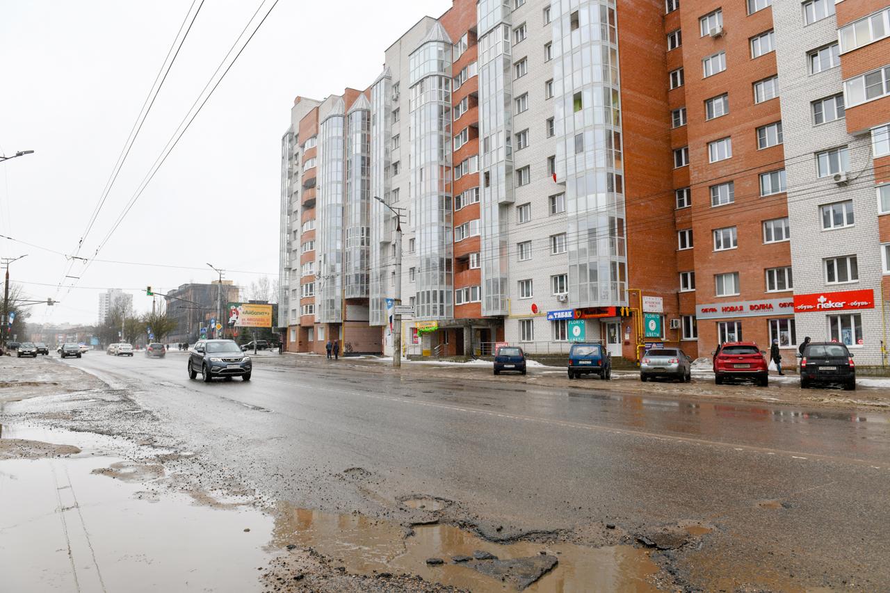 В Смоленске запланировали реконструкцию улицы Нормандия-Неман