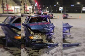 Тяжелые травмы получили участники ДТП на улице Крупской в Смоленске