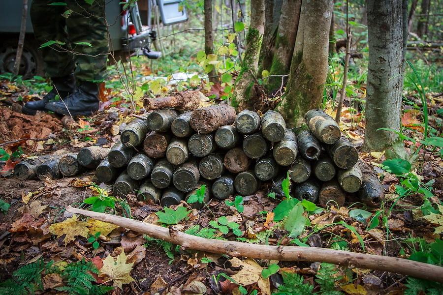 Эхо войны: в Смоленске нашли и уничтожили 21 снаряд