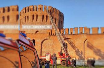 В Смоленске подростки залезли в башню и Орел и не могли выбраться