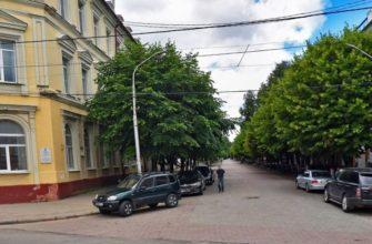 Пешеходную часть улицы Ленина в Смоленске признали аварийной