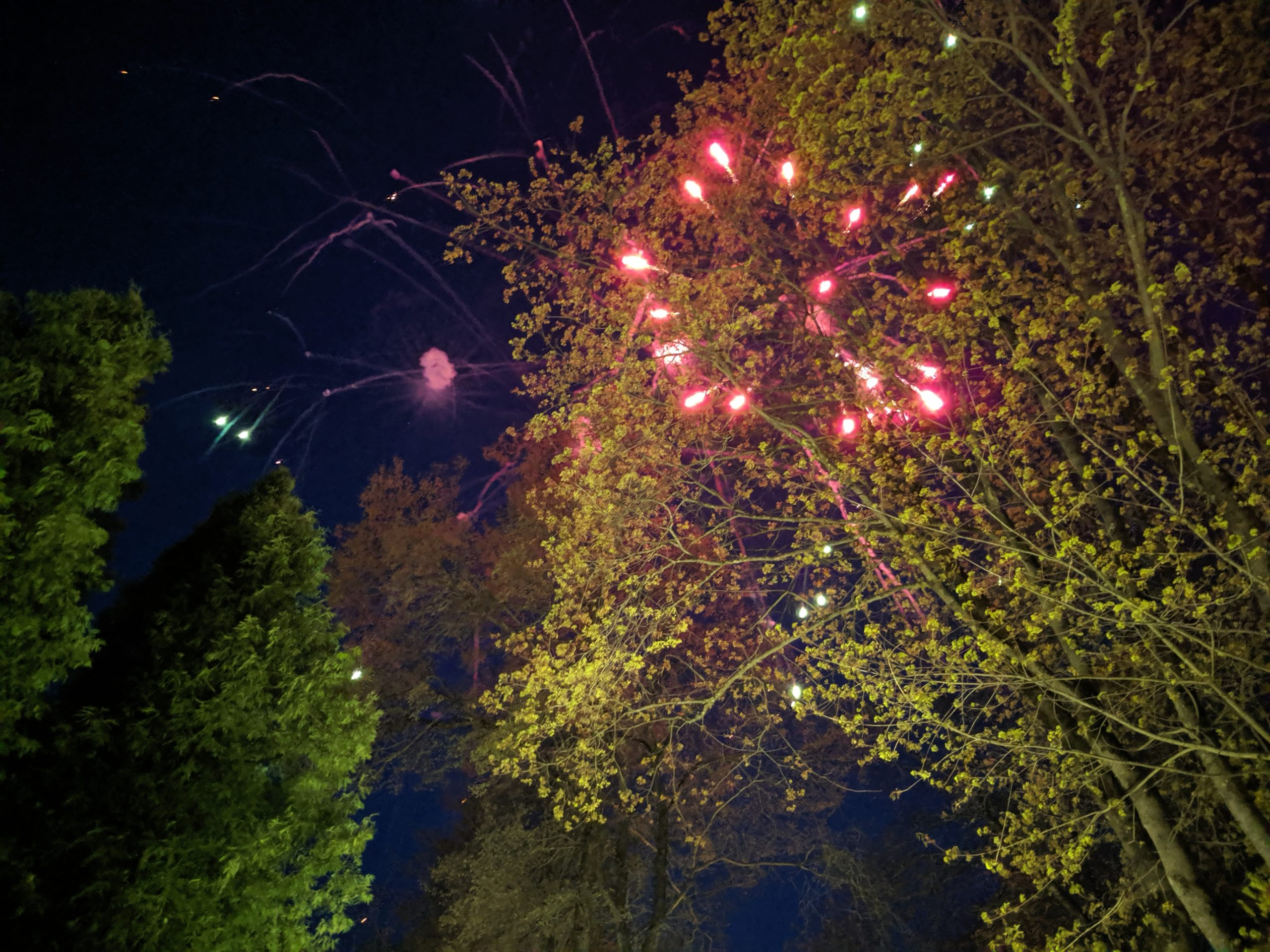 9 мая небо Смоленска озарилось фейерверками