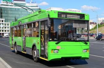 В Смоленск привезут московские троллейбусы