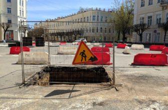 В Смоленске планируют отремонтировать три улицы и площадь Ленина