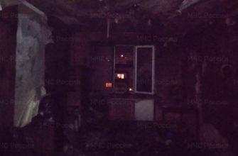 В Смоленске курение на диване стало причиной пожара