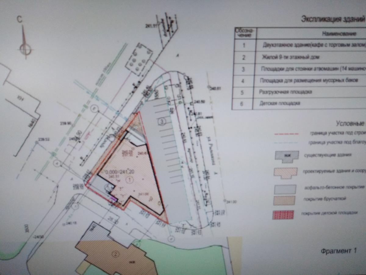 В Смоленске отклонили изменения в проект кафе с торговым залом