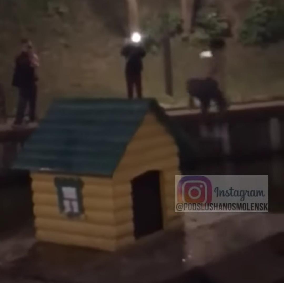 Смоляне негодуют из-за поступков подростков ночью в Лопатинском саду