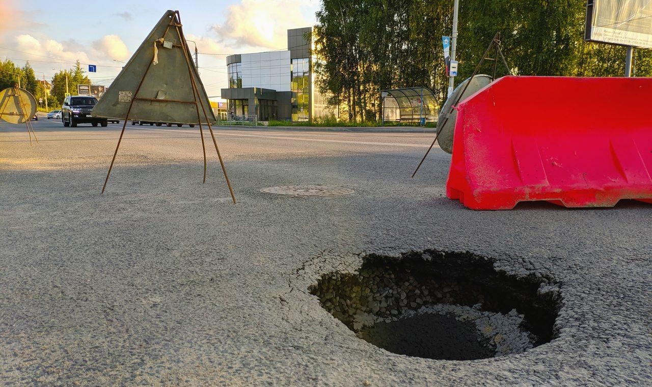 В Смоленске отремонтировали дорогу возле бывшего авторынка