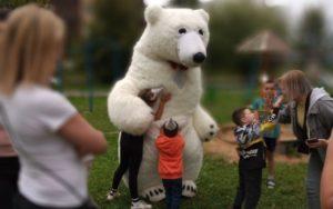 В Смоленске медведь вышел к людям