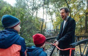 В Смоленске перебросили мост от запустения к благоустройству